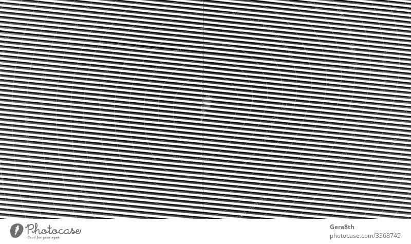 abstraktes schwarz-weiß gestreiftes Wandmuster in Nahaufnahme Auge Streifen einfach abstrakter Hintergrund Abstraktes Muster Abstraktion konzeptionell Einfluss