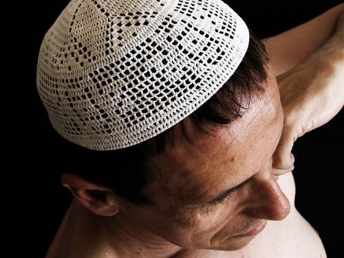 Mütze Mensch Mann Erwachsene Freiheit Denken Religion & Glaube außergewöhnlich Kopf maskulin 45-60 Jahre Männlicher Senior Toleranz weltoffen