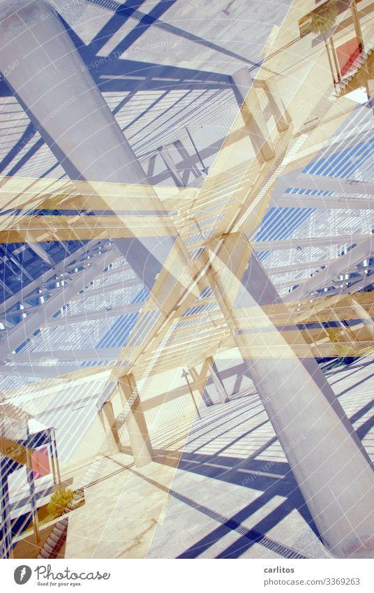 Dekonstruktivismus Dekonstruktion Architektur Stahl Glas Strukturen & Formen Farbe Theorie Kunst Irritation Konstruktion Linie diagonal gebrochen Bruch Neigung