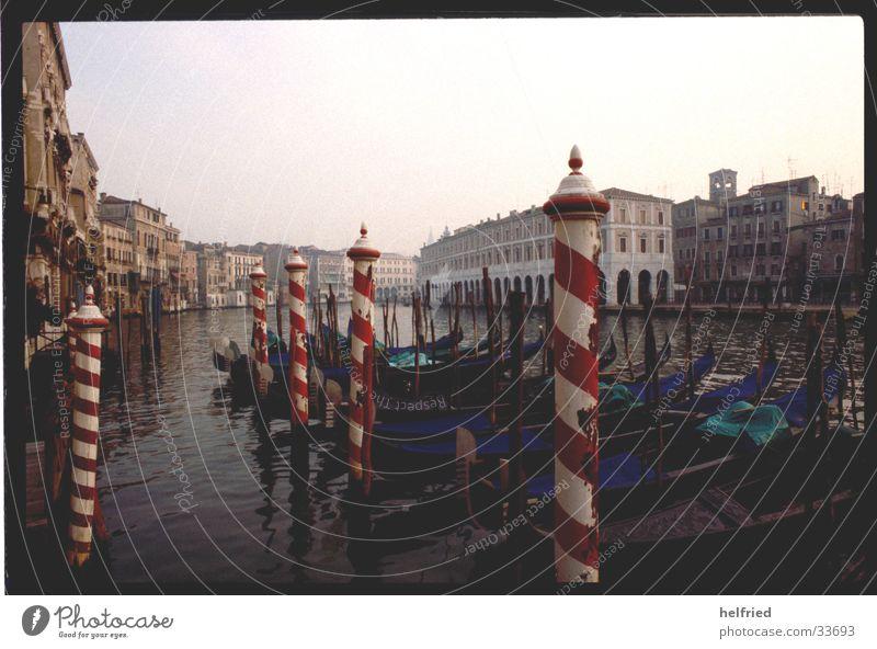 canale grande Stimmung Europa Italien historisch Venedig November Canal Grande