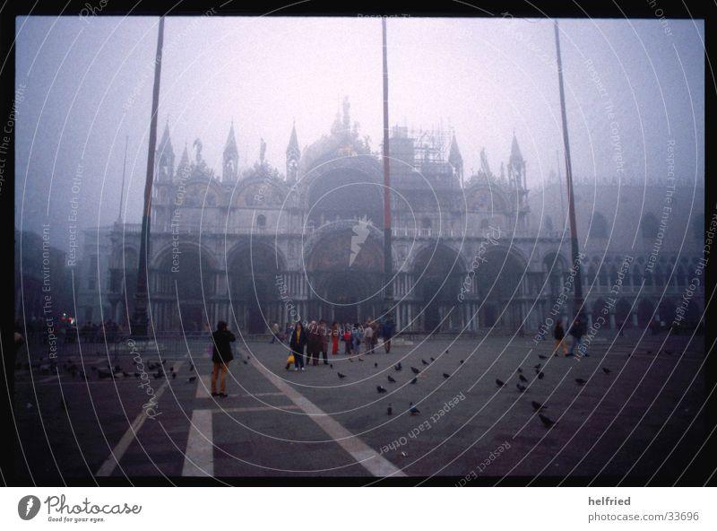 novembernebel in venedig Europa Italien Venedig November