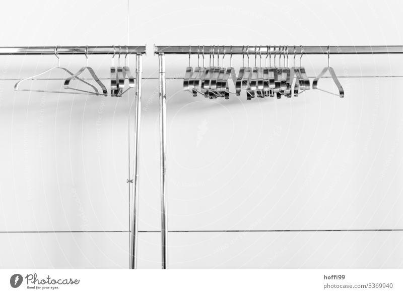 der Vorhang ist gefallen Museum Theater Oper Opernhaus Kleiderbügel Kleiderständer Bekleidung ästhetisch authentisch glänzend hell modern retro Sauberkeit