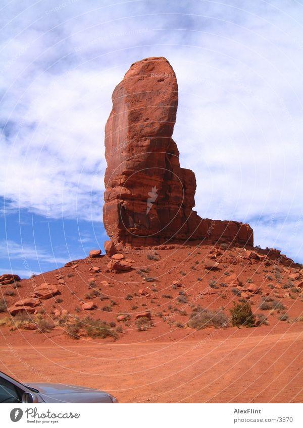 Schuh des Manitu Denkmal Valley USA Ferien & Urlaub & Reisen