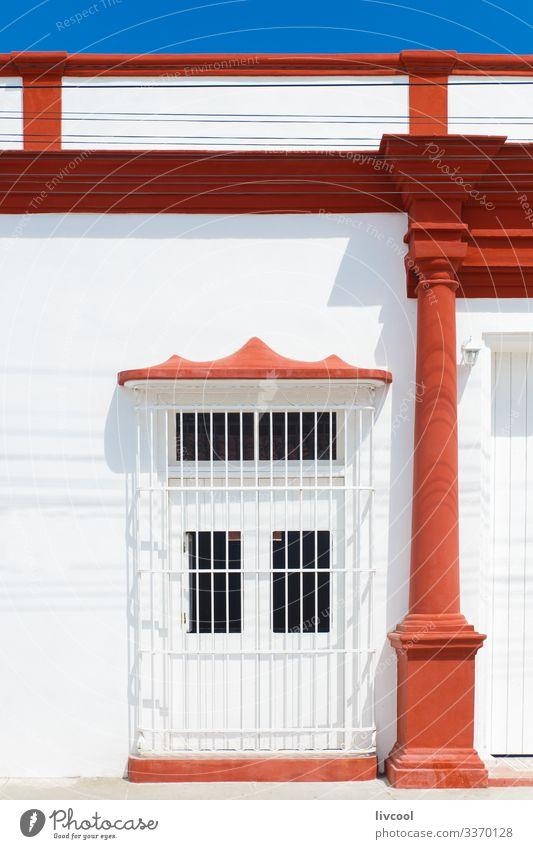 altes historisches gebäude, bayamo - kuba Lifestyle Stil Leben Ferien & Urlaub & Reisen Tourismus Ausflug Insel Haus Dekoration & Verzierung Kunst Stadt Gebäude