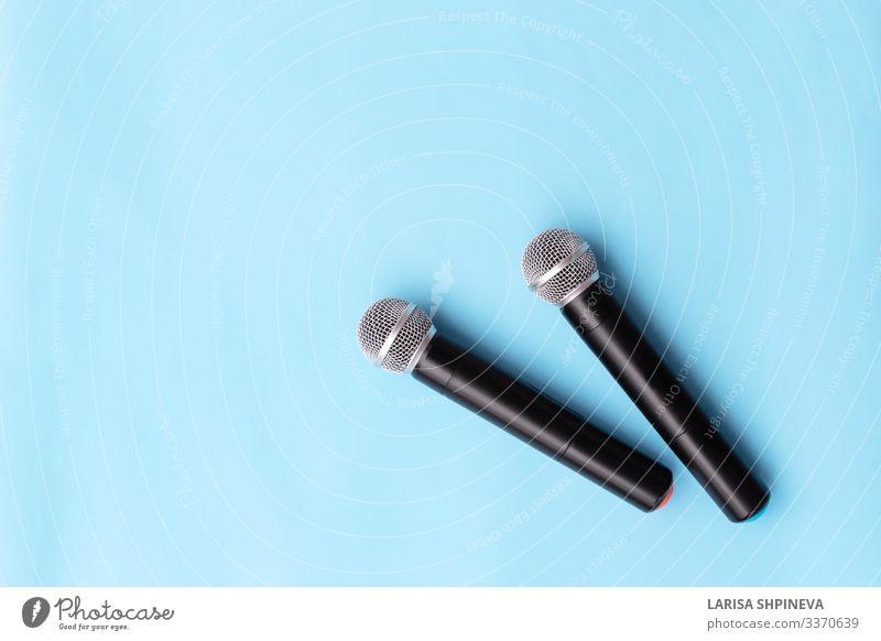 silbernes Vokalmikrofon, drahtlos für Audioaufnahmen Stil Freizeit & Hobby Entertainment Musik sprechen Technik & Technologie Konzert Sänger Medien