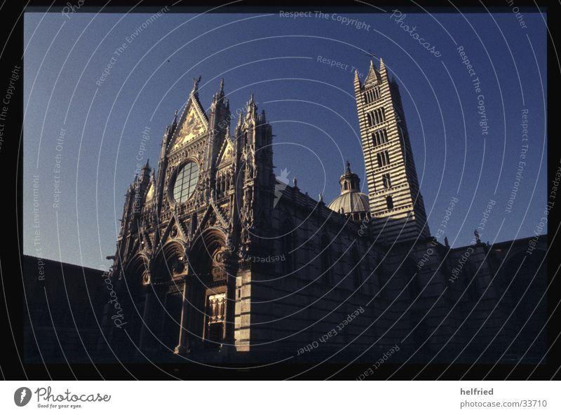 duomo di siena Kunst Architektur Europa Italien Gotik Toskana Kathedrale Marmor Siena