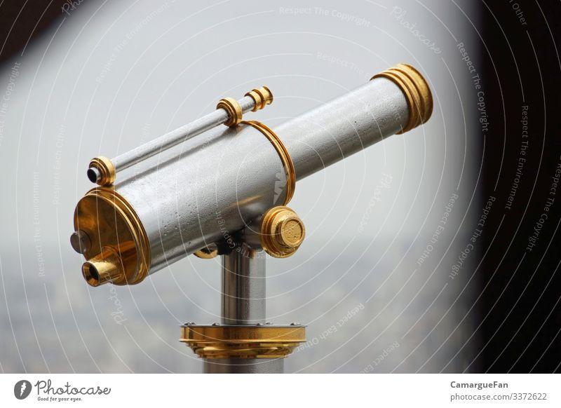 Fernblick Fernglas Metall Linie elegant fantastisch glänzend nah dünn schön gold grau silber achtsam Neugier Interesse Abenteuer Design entdecken erleben