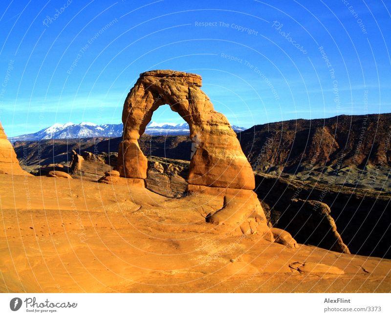 es wird rot wenn die sonne untergeht Ferien & Urlaub & Reisen Berge u. Gebirge USA Denkmal
