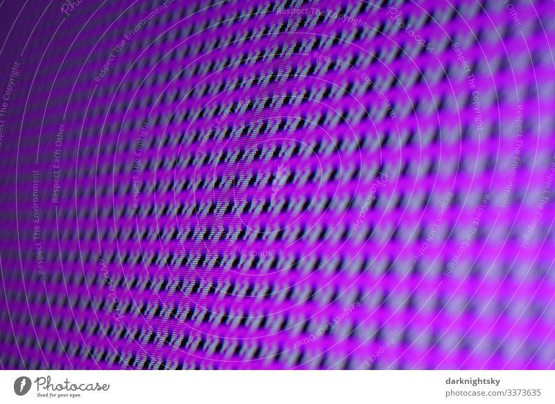 Monitor Hintergrund Störung mit Muster Textur in violetter Farbe Strukturen & Formen Experiment Farbfoto Fernsehen Internet Informationstechnologie Bildschirm