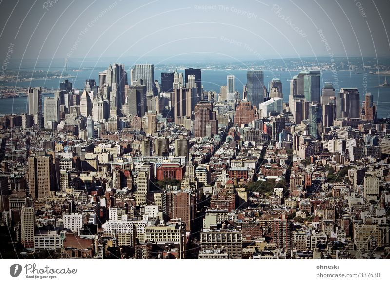 I Love New York Stadt Haus Leben Freiheit Architektur Hochhaus modern Bauwerk Bankgebäude Optimismus New York City Manhattan