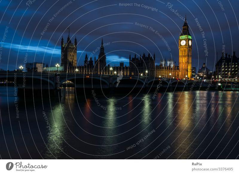 Parlamentsgebäude in London. Lifestyle Reichtum Stil Ferien & Urlaub & Reisen Tourismus Sightseeing Städtereise Wirtschaft Handel Dienstleistungsgewerbe Kunst