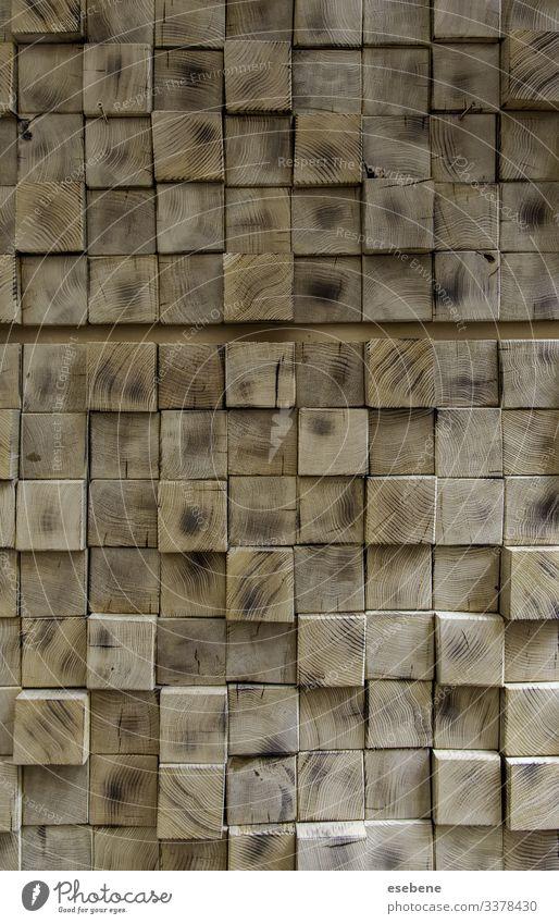 Quadratische Holzwand Innenbereich Dekor Konstruktion blanko Möbel dunkel gestreift Außenseite Grunge weiß Teak rustikal Tapete retro Schreibtisch altehrwürdig