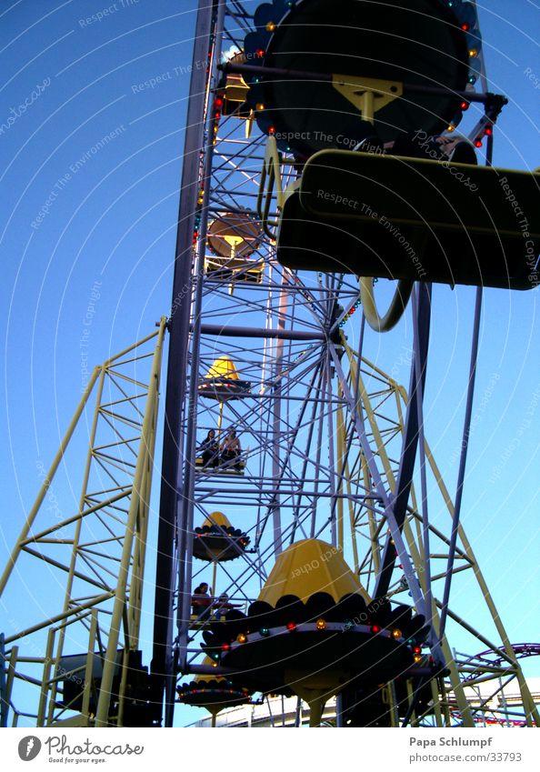 Riesenrad Freude Erholung Freizeit & Hobby Jahrmarkt Vergnügungspark Stadtfest