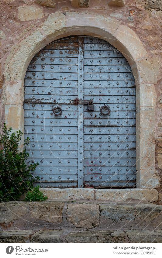 Das Tor der venezianischen Burg in Sitia, Kreta. Europa mediterran Griechenland Crete Lasithi Stadt Altstadt Architektur Gate Gebäude historisch