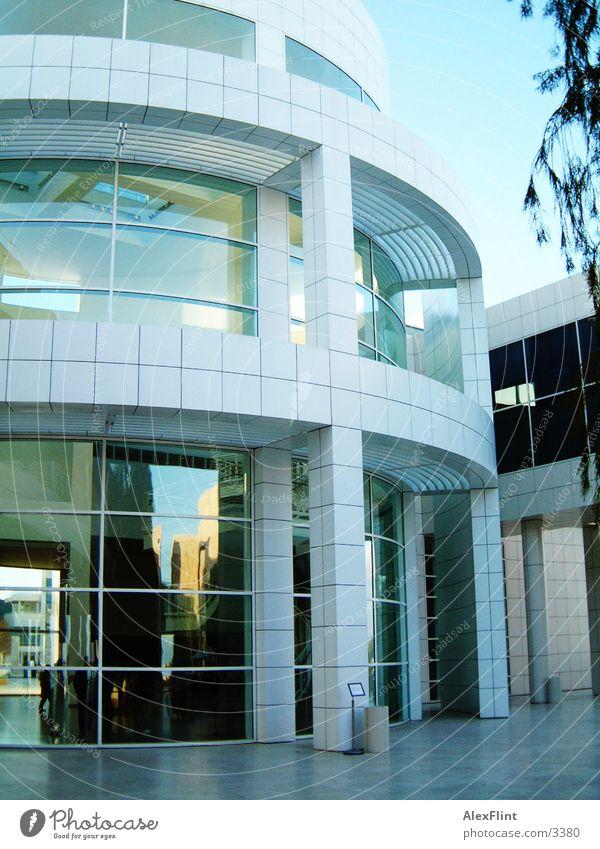 modern1 Gebäude rund Architektur Glas verglast