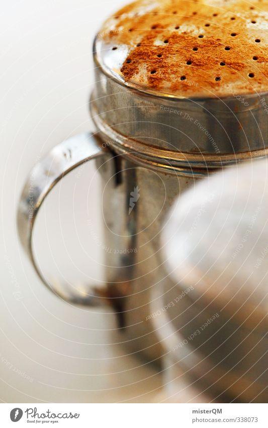 Zimtstreuer. braun Kunst Lebensmittel ästhetisch Ernährung Küche Kräuter & Gewürze Süßwaren Frühstück Geschirr Bioprodukte Dessert Vegetarische Ernährung Büffet