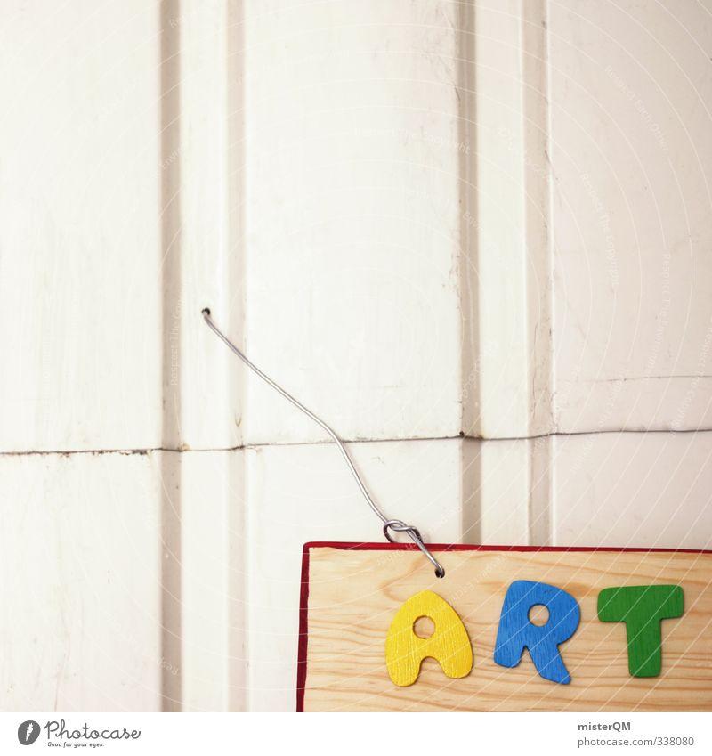 ART. Jugendliche Stil Kunst elegant Schilder & Markierungen Design modern verrückt Schriftzeichen ästhetisch Buchstaben Kreativität Idee Lebewesen Artist