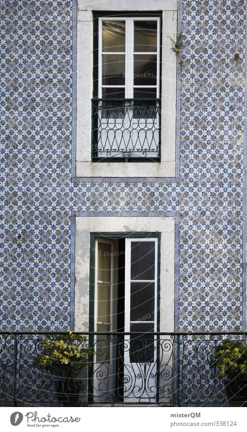 Kachelfassade von misterqm ein lizenzfreies stock foto for Fliesen portugal