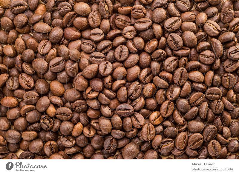 Getreide Frühstück Getränk Kaffee Espresso dunkel natürlich braun schwarz Energie Tradition Arabien arabica aromatisch Hintergrund Hintergründe Bohnen brauen