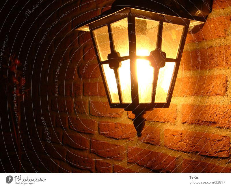 Licht Lampe Mauer Laterne Physik Dinge Wärme