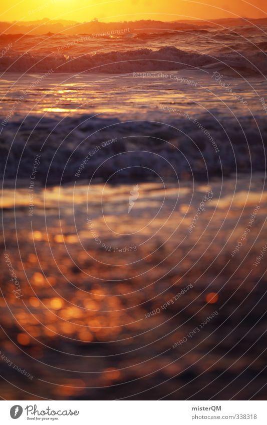 Deep Gold II Kunst ästhetisch Zufriedenheit gold sommerlich Sommerurlaub Ferien & Urlaub & Reisen Urlaubsort Urlaubsfoto Urlaubsgrüße Urlaubsstimmung Idylle