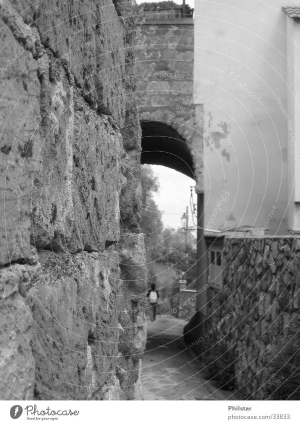 Dorf Italien Architektur