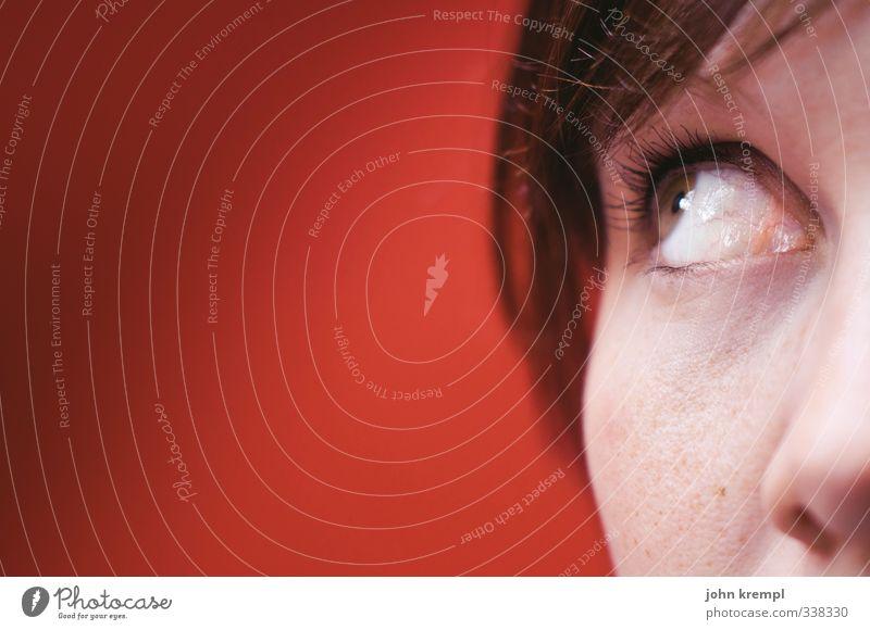 Wenn schon Mutti, dann Ornella Mensch feminin Junge Frau Jugendliche Auge 1 18-30 Jahre Erwachsene beobachten Denken Blick träumen Freundlichkeit Neugier schön