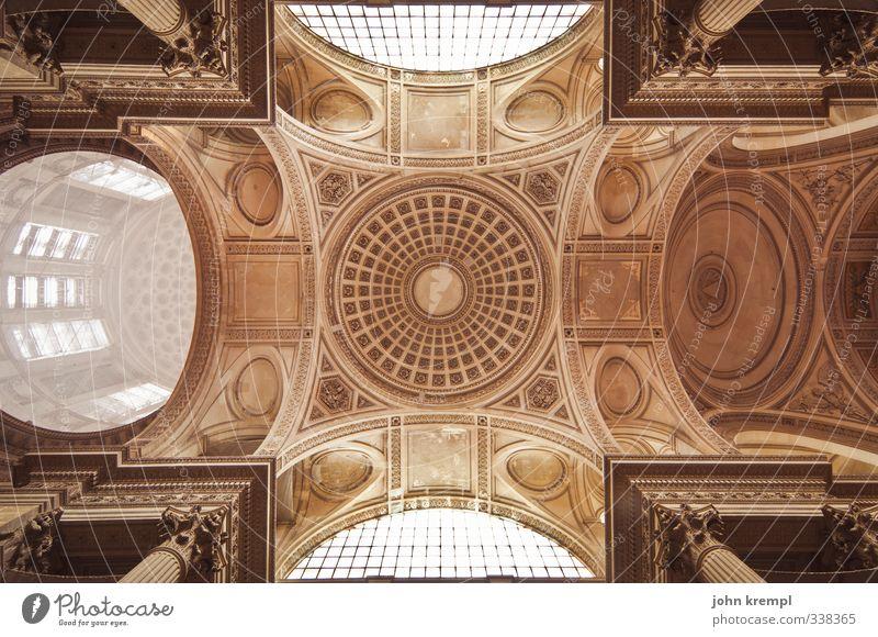 Panthéon Paris Frankreich Hauptstadt Kirche Dom Bauwerk Gebäude Architektur ruhmeshalle krypta Grabgewölbe Grabkammer Kuppeldach Decke Deckengewölbe