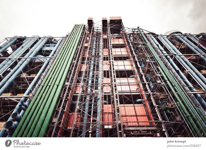 RGB Paris Frankreich Hochhaus Bauwerk Gebäude Architektur Fassade Sehenswürdigkeit Centre Pompidou ästhetisch außergewöhnlich gigantisch hässlich modern bizarr