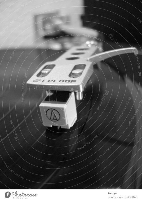 Let the music play Musik Technik & Technologie Tonabnehmer Schallplatte Plattenspieler Elektrisches Gerät