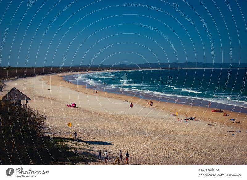 Strand ohne Ende Freude harmonisch Ausflug Umwelt Schönes Wetter Meer Australien + Ozeanien Wasser beobachten entdecken genießen Blick außergewöhnlich