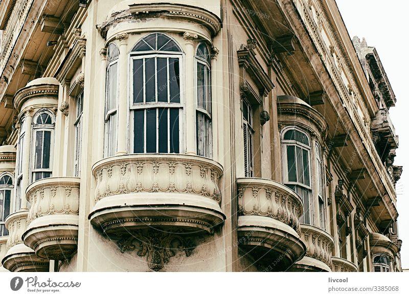 altes gebäude - ecke , havanna Havanna Kuba Karibik retro altehrwürdig rosa Gebäude Bogen Schatten schattige Straße Stadtzentrum Großstadt Tourismus Feiertag