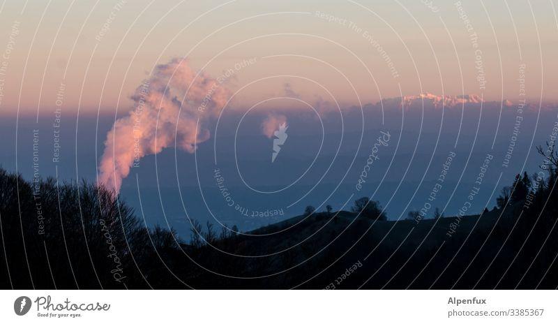Bäh! | Umweltverschmutzung Außenaufnahme Menschenleer Natur Umweltschutz Klimawandel Industrie Kohlekraftwerk Energiekrise Energiewirtschaft Farbfoto Rauch