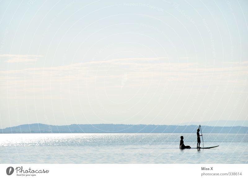 Paddeln Freizeit & Hobby Ferien & Urlaub & Reisen Abenteuer Ferne Expedition Sommer Sommerurlaub Meer Insel Sport Wassersport Freundschaft Partner Leben 2