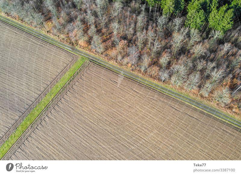 #Feld von Oben 1 feld drone von oben agriculture Feldarbeit Felder Feldrand wald Bauernhof