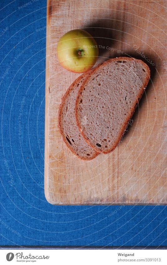 Fastenzeit fastenzeit Spiritualität Vegetarische Ernährung Brot Pause Pause machen Brotzeit Apfel