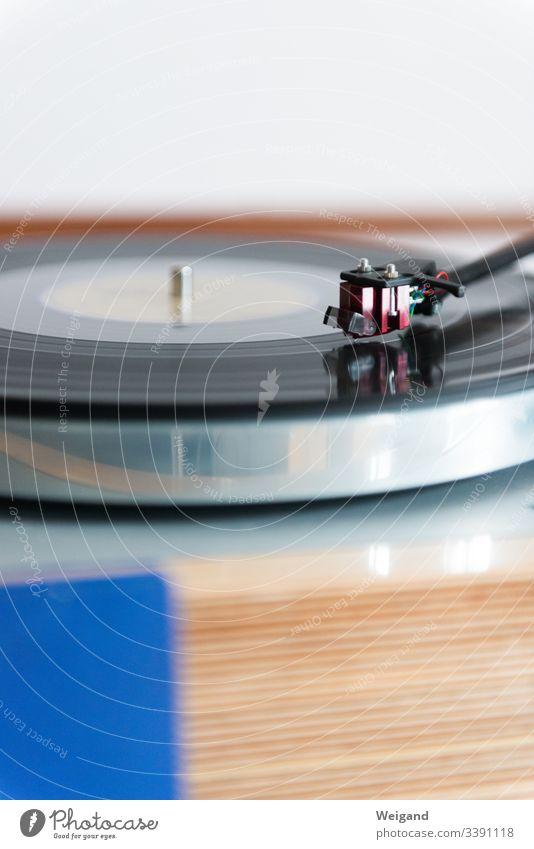 Plattenspieler Vinyl Technik & Technologie Tonabnehmer Musik Plattenteller Schallplatte Elektrisches Gerät Jazz