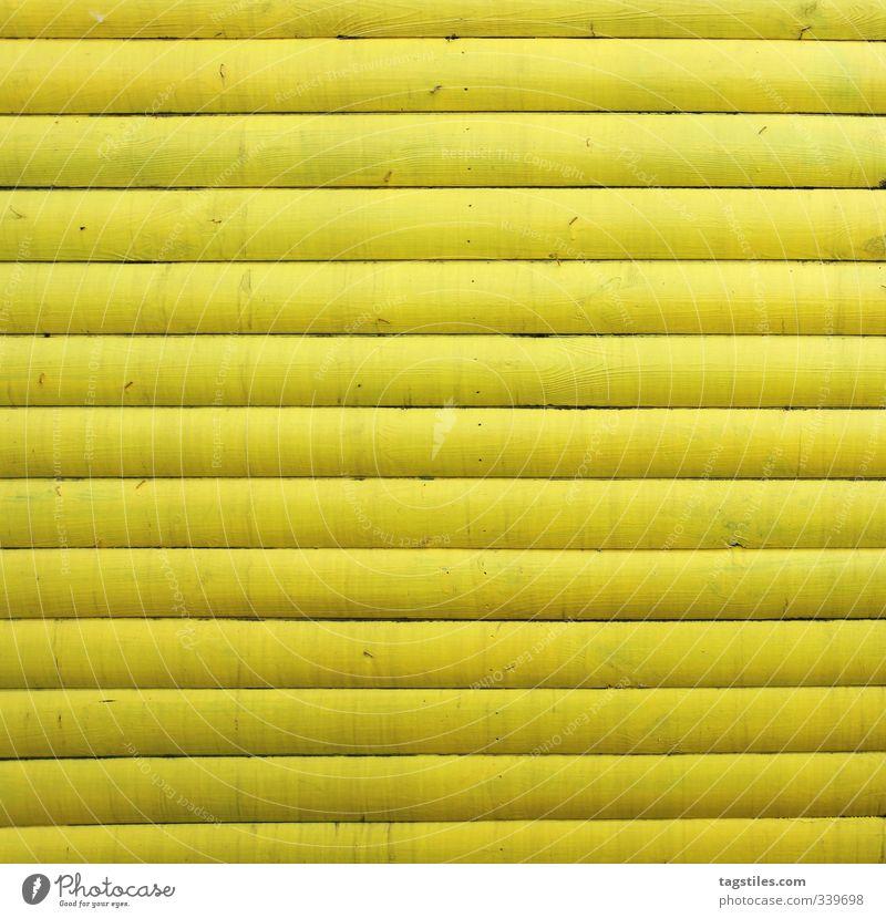 |||||||||||| Holz Holzbrett Balken parallel gelb gestrichen Muster abstrakt Strukturen & Formen Wand Holzwand Linie gerade geraden simpel Hintergrundbild