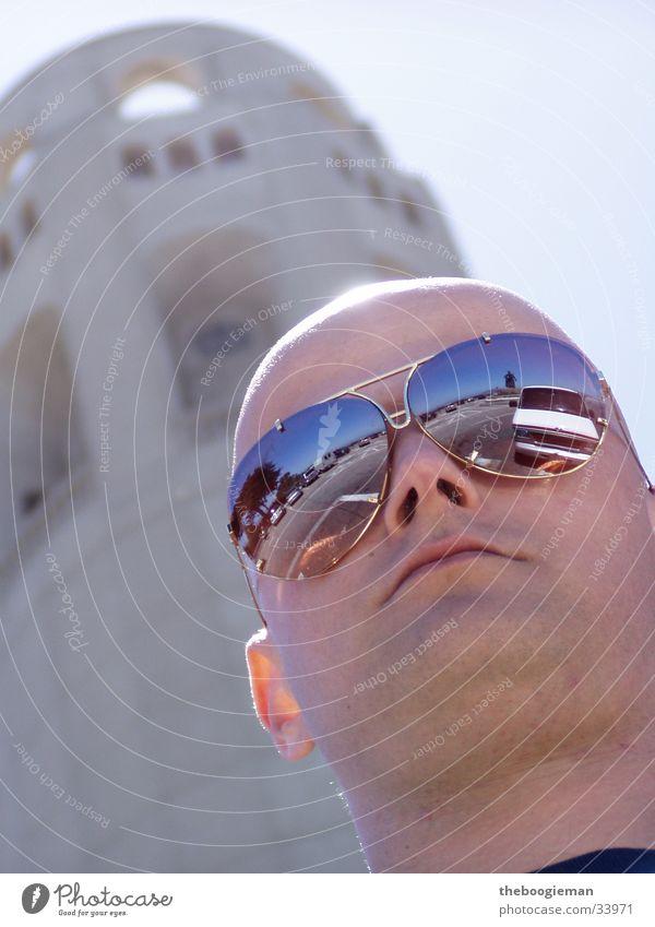 stephan Mann Sonne maskulin Glatze Sonnenbrille San Francisco