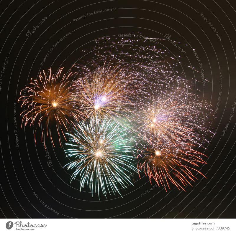 ZWUUUSCH Farbe Freude dunkel Farbstoff Feste & Feiern Fröhlichkeit Feuer Hamburg Silvester u. Neujahr Veranstaltung Feuerwerk Nachthimmel Explosion Knall zünden