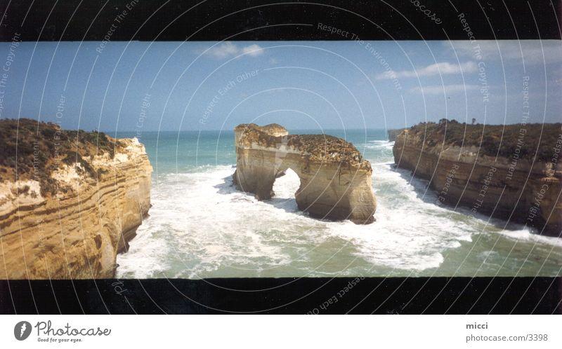 12 Apostel - Australien Natur schön Meer Stimmung Küste groß Felsen Panorama (Bildformat)