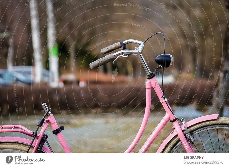 Altes Fahrrad Verkehr alt Fahradständer fahradfahren verlohren Finderlohn Diebstahl kapputt gestohlen wörthersee Urlaub Ironman lila Sattel Außenaufnahme