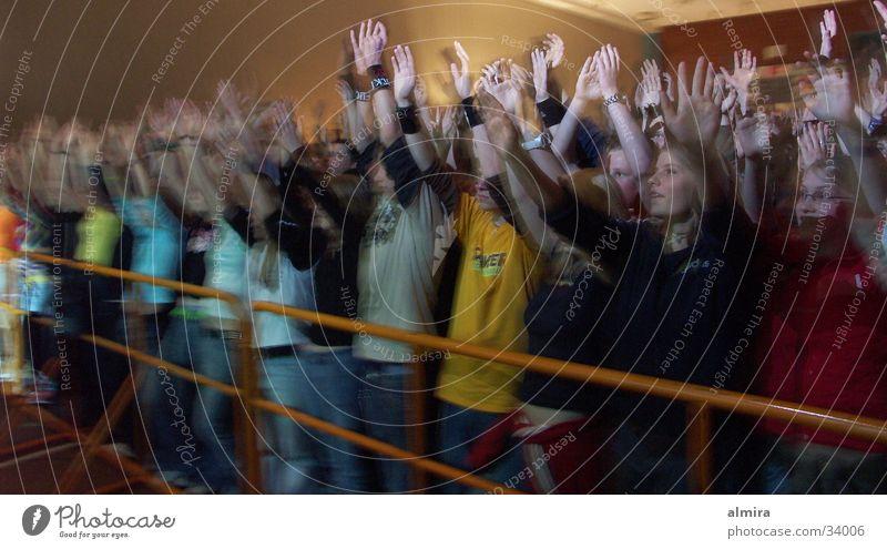 good vibes Konzert Applaus Stimmung Krach Musik Publikum Freude MaiDay Minden