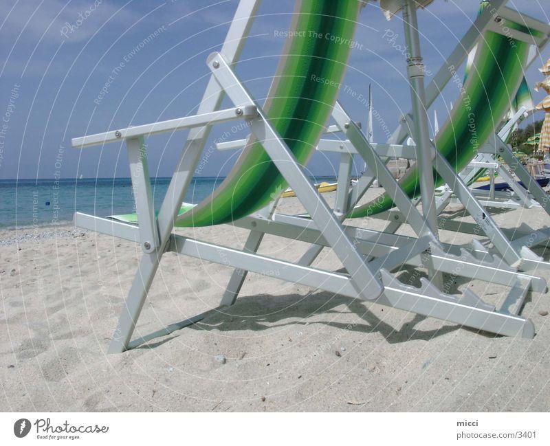Strandleben Natur Meer Erholung Sand Stimmung genießen