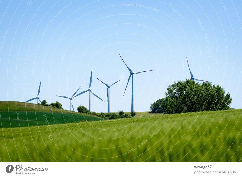 Klimawandel| erneuerbare Energien Zukunft Energiewende Energiewirtschaft grüne Energie Erneuerbare Energie Außenaufnahme Farbfoto Fortschritt Menschenleer