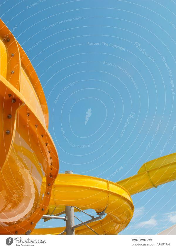 huuuiiii Schwimmen & Baden Freizeit & Hobby Spielen Ferien & Urlaub & Reisen Tourismus Sommer Sommerurlaub Schwimmbad Himmel Wolkenloser Himmel Schönes Wetter