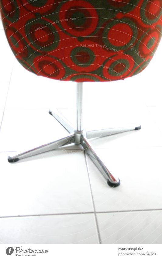 Retro Sessel in orange/braun braun orange retro Möbel Foyer Sessel Siebziger Jahre Chrom old-school