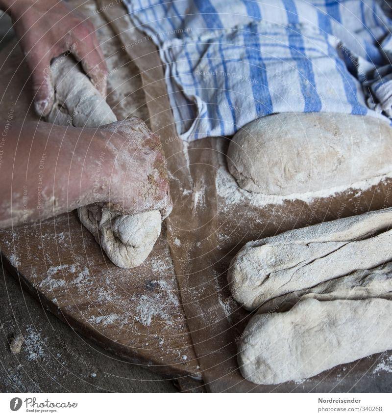 Traditionell Hand Leben Bewegung natürlich Arbeit & Erwerbstätigkeit Lebensmittel Arme authentisch Ernährung retro Handwerk Duft Brot Bioprodukte Backwaren