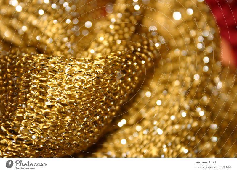 Oro gelb glänzend gold Stoff Umzug (Wohnungswechsel)