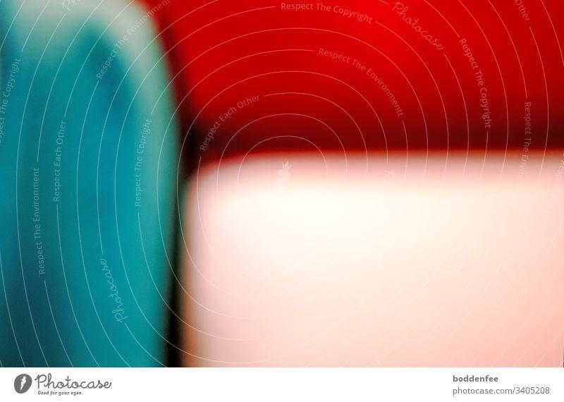 Farb- und Strukturspielerei - unscharf farben farbfreudig linear Farbfoto Farbenspiel